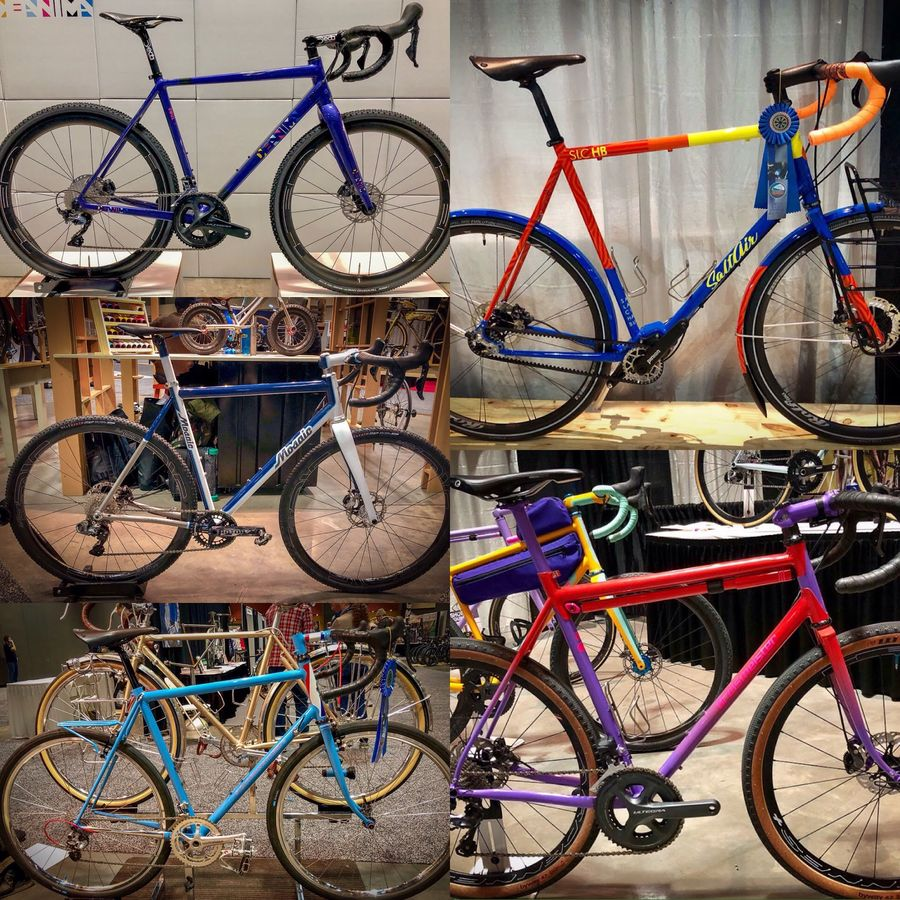 Craftmanship and artisanship will be on display at NAHBS. 2018 North American Handmade Bike Show (NAHBS) © Mike Taylor / Cyclocross Magazine