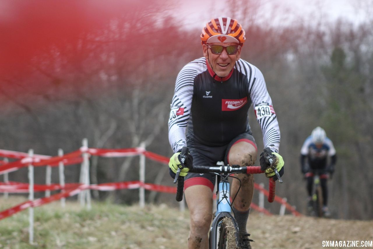 Waldman recommends focusing on the positive entering this offseason. 2018 Louisville Cyclocross Masters Nationals. © Z. Schuster / Cyclocross Magazine