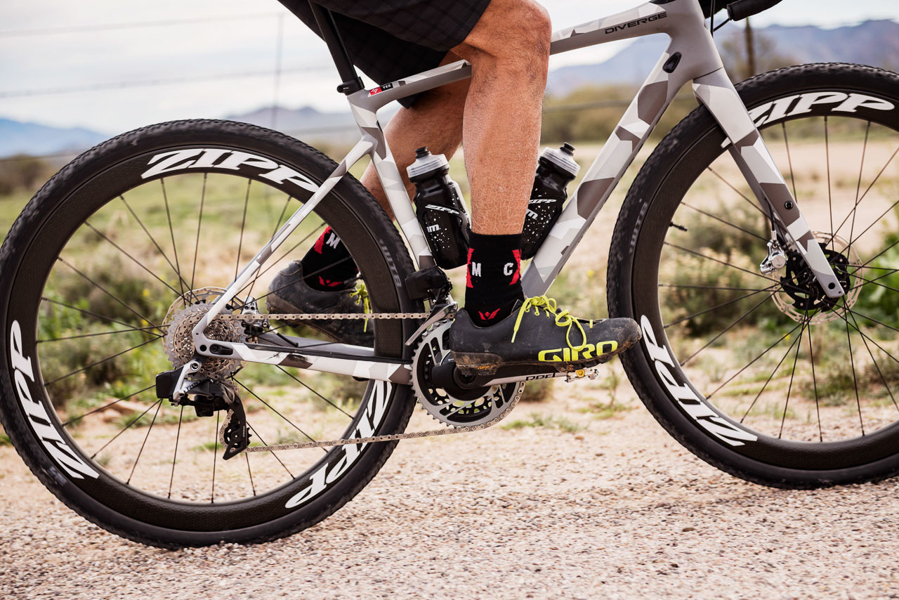 We test out the new SRAM RED eTAP AXS electronic 12-speed drivetrain.
