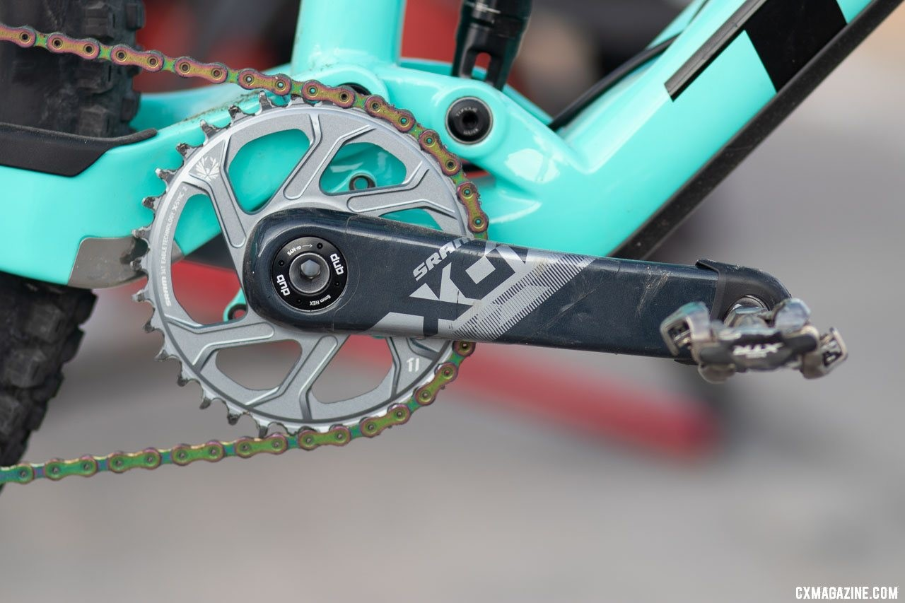 SRAM RED eTAP AXS and Eagle AXS unveiled. © A. Yee / Cyclocross Magazine