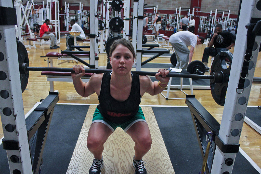 Weight lifting is beneficial for all athletes. photo: Em Bhoo, used under a Creative Commons license