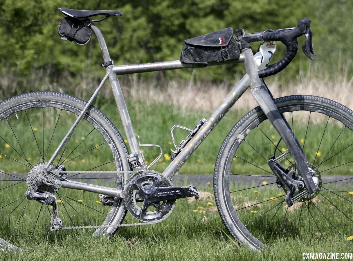 Cyclogravel Bike: Kristen Legan's Custom Titanium Firefly