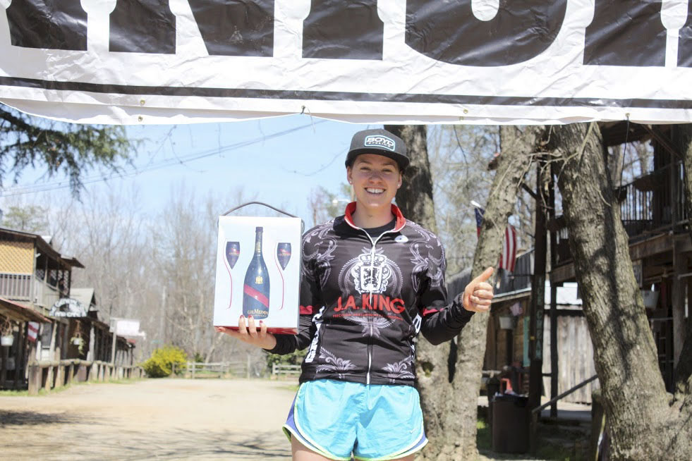 Allison Arensman won the Women's two-day omnium. 2019 Love Valley Roubaix Gravel Race, North Carolina. © Love Valley Roubaix