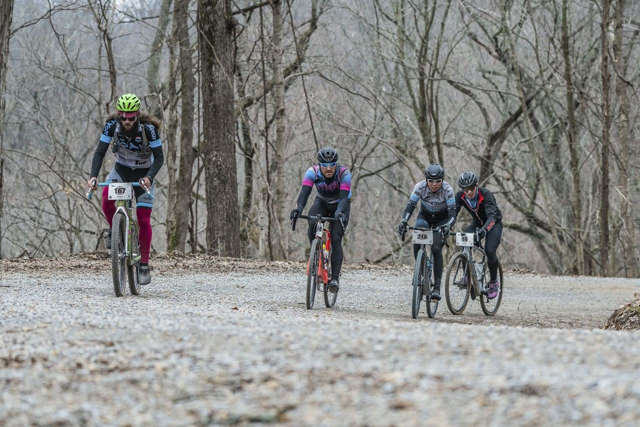 The Dirty South Roubaix course featured a lot of climbing. photo: Marcus Janzow Marcus Janzow