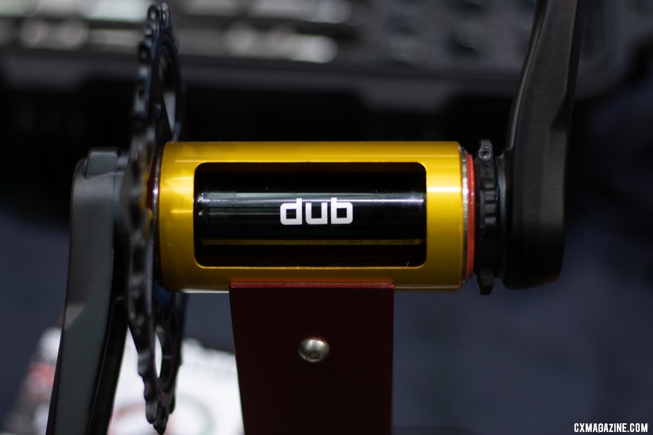 Enduro has new bottom brackets to support SRAM's new DUB standard. 2019 NAHBS Sacramento. © A. Yee / Cyclocross Magazine