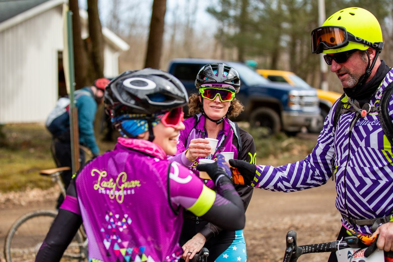 Riders had a good time, and the team is likely to roll the dice with the early March date again next year. 2019 Baitin' the Shark Gravel Race, Ohio. © Jen Adams, Limelight Studios
