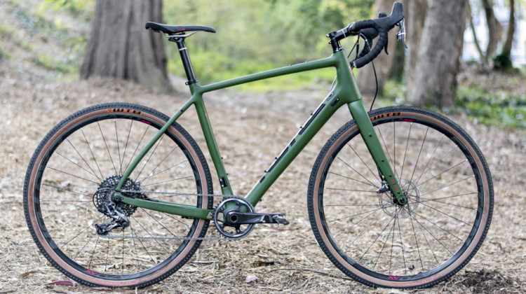 Kona Libre DL Gravel/Adventure Bike. © C. Lee / Cyclocross Magazine
