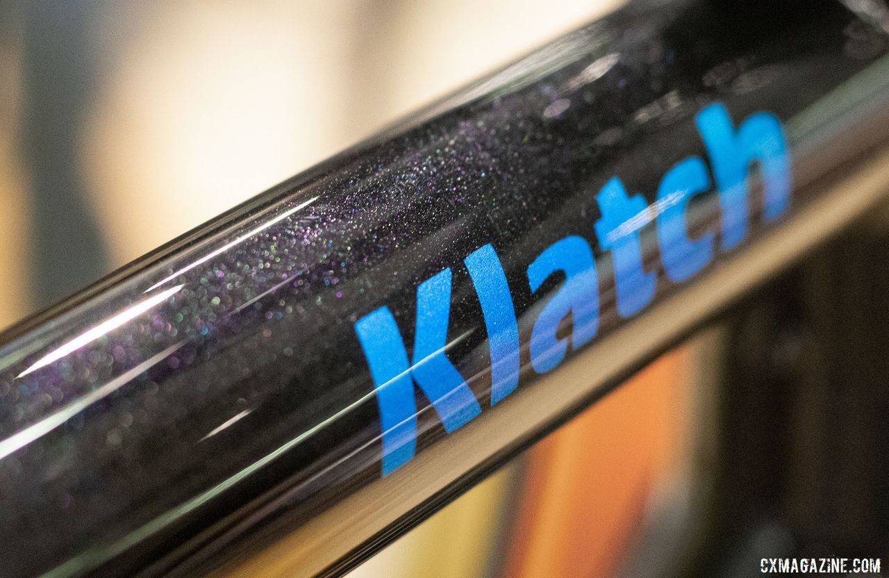 The Co-Motion Klatch at NAHBS had a sparkle to it. 2019 NAHBS Sacramento. © A. Yee / Cyclocross Magazine