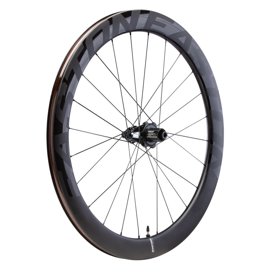 Easton's EC90 AERO55 carbon Road Tubeless clincher with Pivot Vault hub