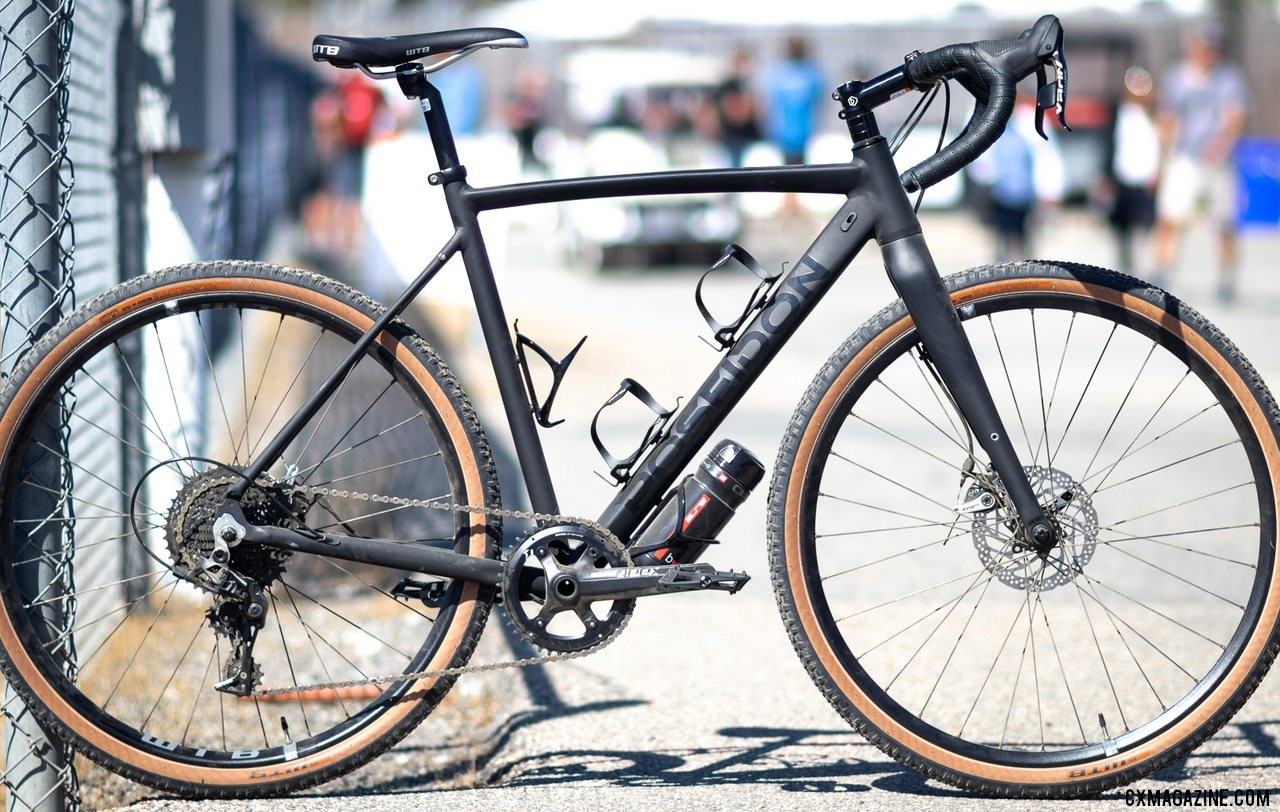 The Limited Edition SRAM Apex 1x11 Poseidon X retails for just $1399 and is ready for adventure with WTB tubeless wheels and tires and wide-range gearing. 2019 Sea Otter Classic. © A. Yee / Cyclocross Magazine