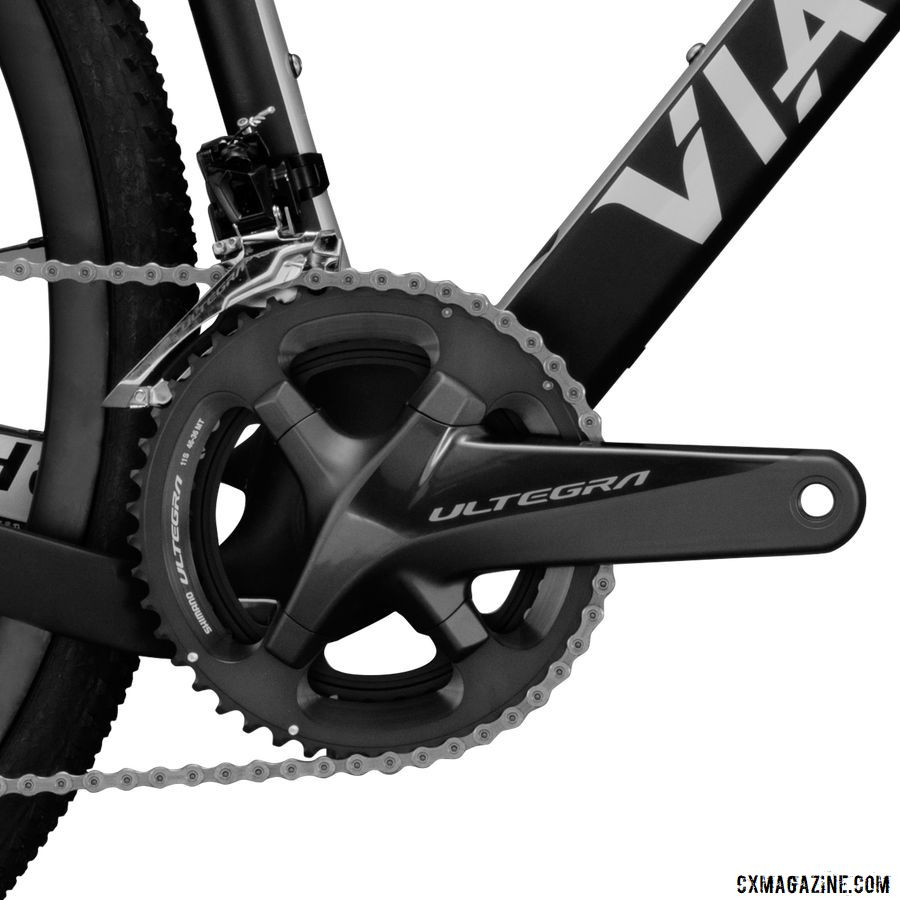 The G1 Ultegra is the mid-level build. Viathon G1 Gravel Bike Launch