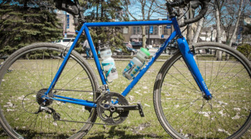 Nikola Perego's Horse Gravel Bike, 2019 Barry-Roubaix. © B. Grant / Cyclocross Magazine