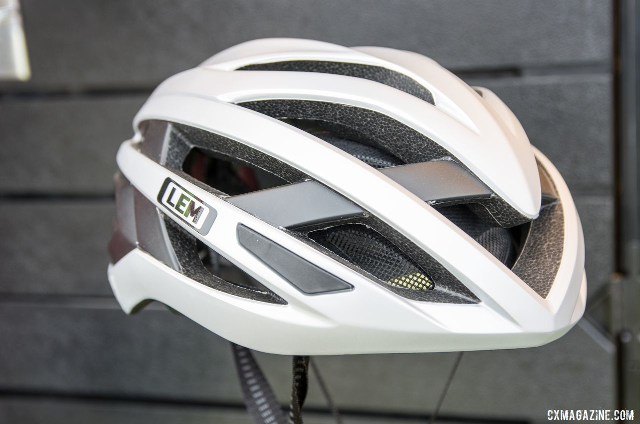 The Tailwind is a hybrid aero/road helmet. LEM Helmets, 2019 Sea Otter Classic. © C. Lee / Cyclocross Magazine