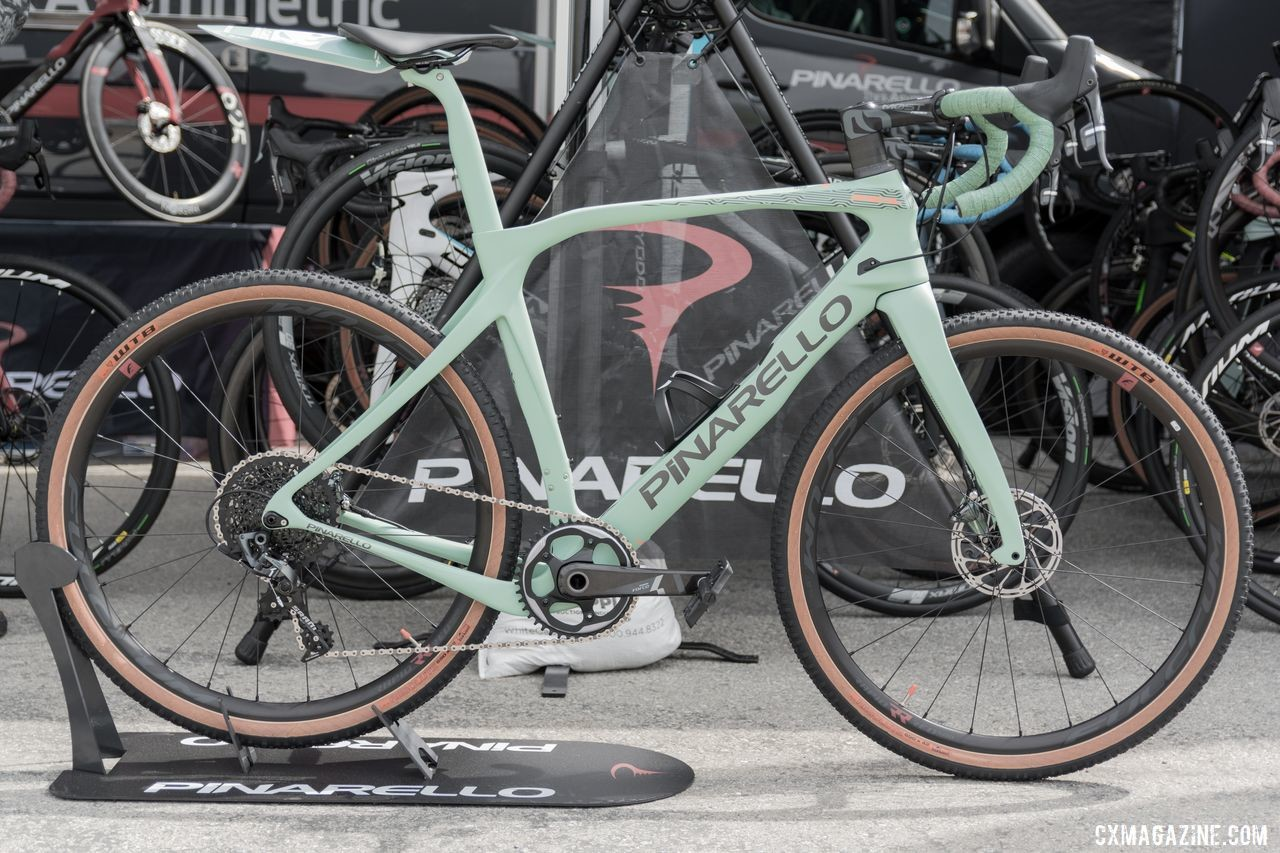 Pinarello Grevil Gravel Bike, 2019 Sea Otter Classic. © C. Lee / Cyclocross Magazine