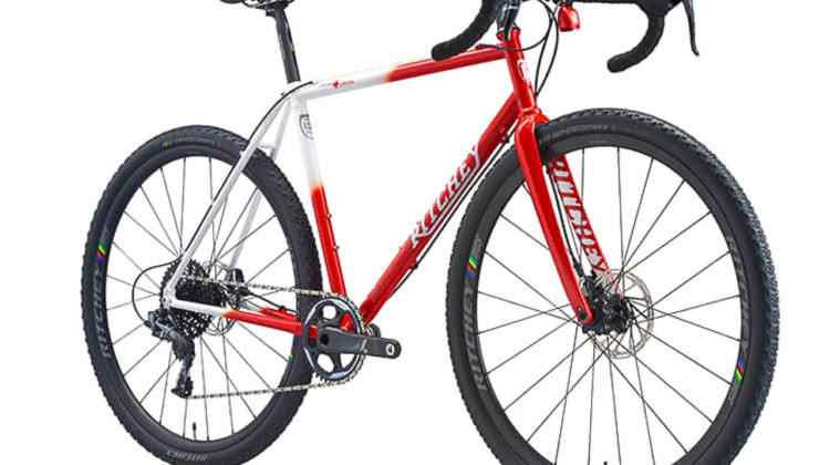 The new limited edition 25th anniversary Ritchey Swiss Cross frameset.
