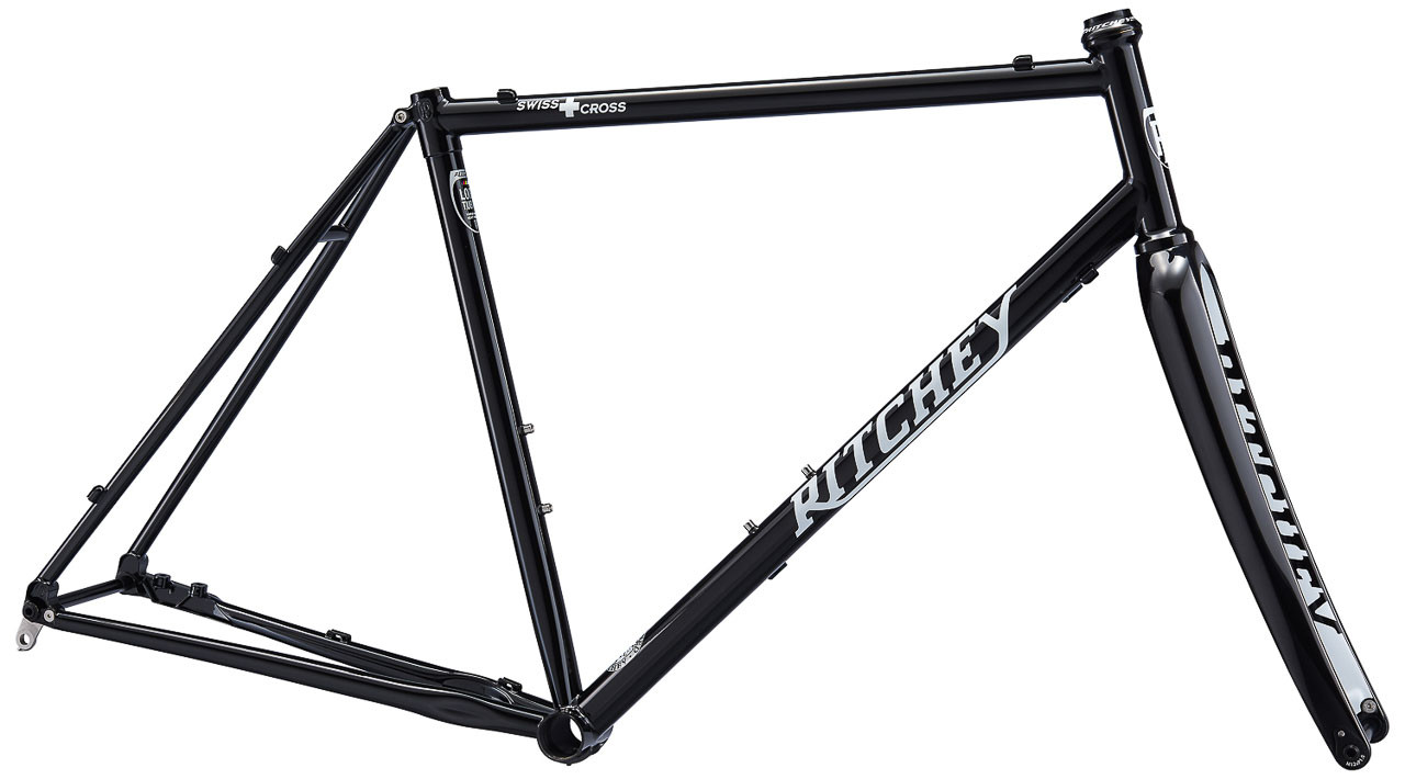 The new Ritchey Swiss Cross frameset also comes in a $1399 black edition that won't be so limited in quantity.