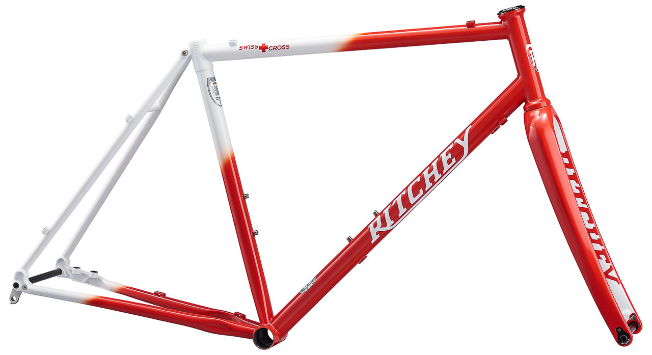 The new limited edition 25th anniversary Ritchey Swiss Cross frameset. Only 100 will be made, with just 30 coming to the U.S.