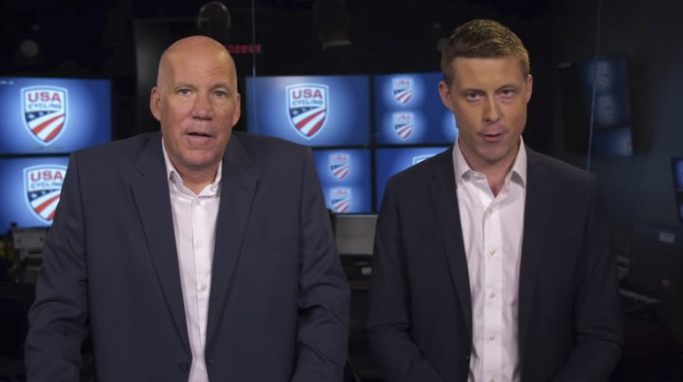 Your men in blazers hosting This Week in American Cycling.