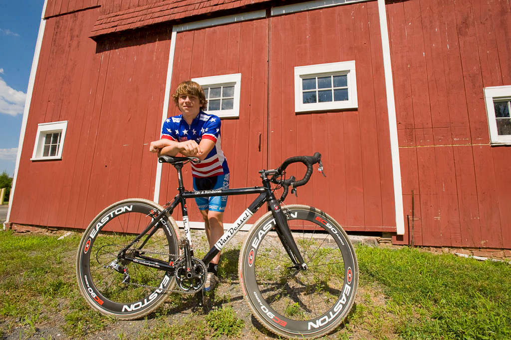 Van Dessel's first cyclocross national champion, Jeff Bahnson. photo: courtesy
