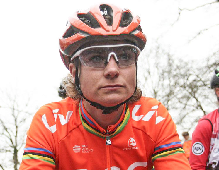 Marianne Vos' former WaowDeals Pro Cycling team is now CCC - Liv. 2019 Dutch Cyclocross National Championships, Huijbergen. © B. Hazen / Cyclocross Magazine