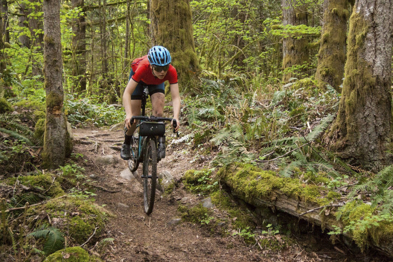 THe Ride for Water course featured trails of all kinss. 2019 Ride for Water. © Liam Dueck