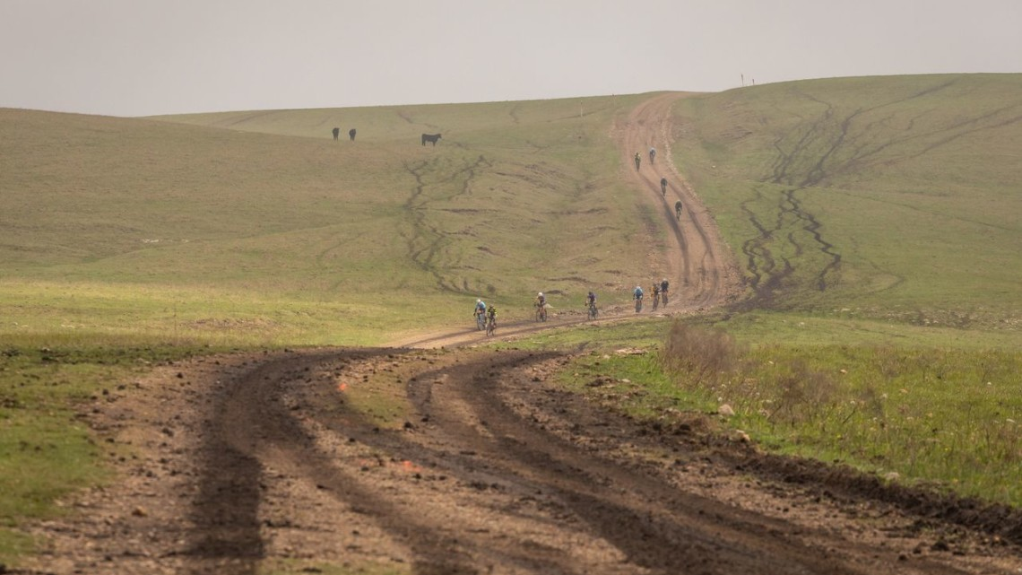 Saturday's race included part of the DK200 course. photo: Christopher Nichols Photography