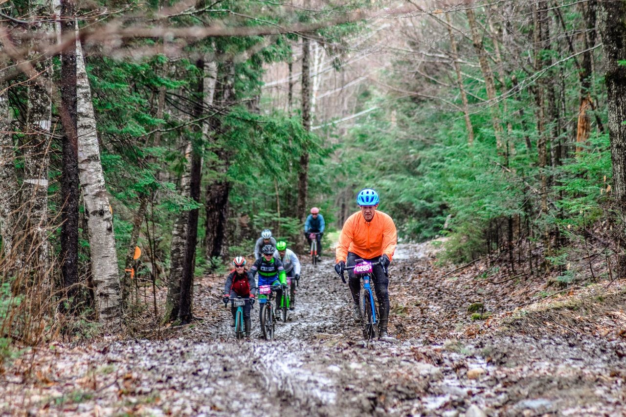 """I wish it was harder"" is not something you hear at Rasputitsa. 2019 Rasputitsa Gravel Race, Vermont. © Nolan Myers"