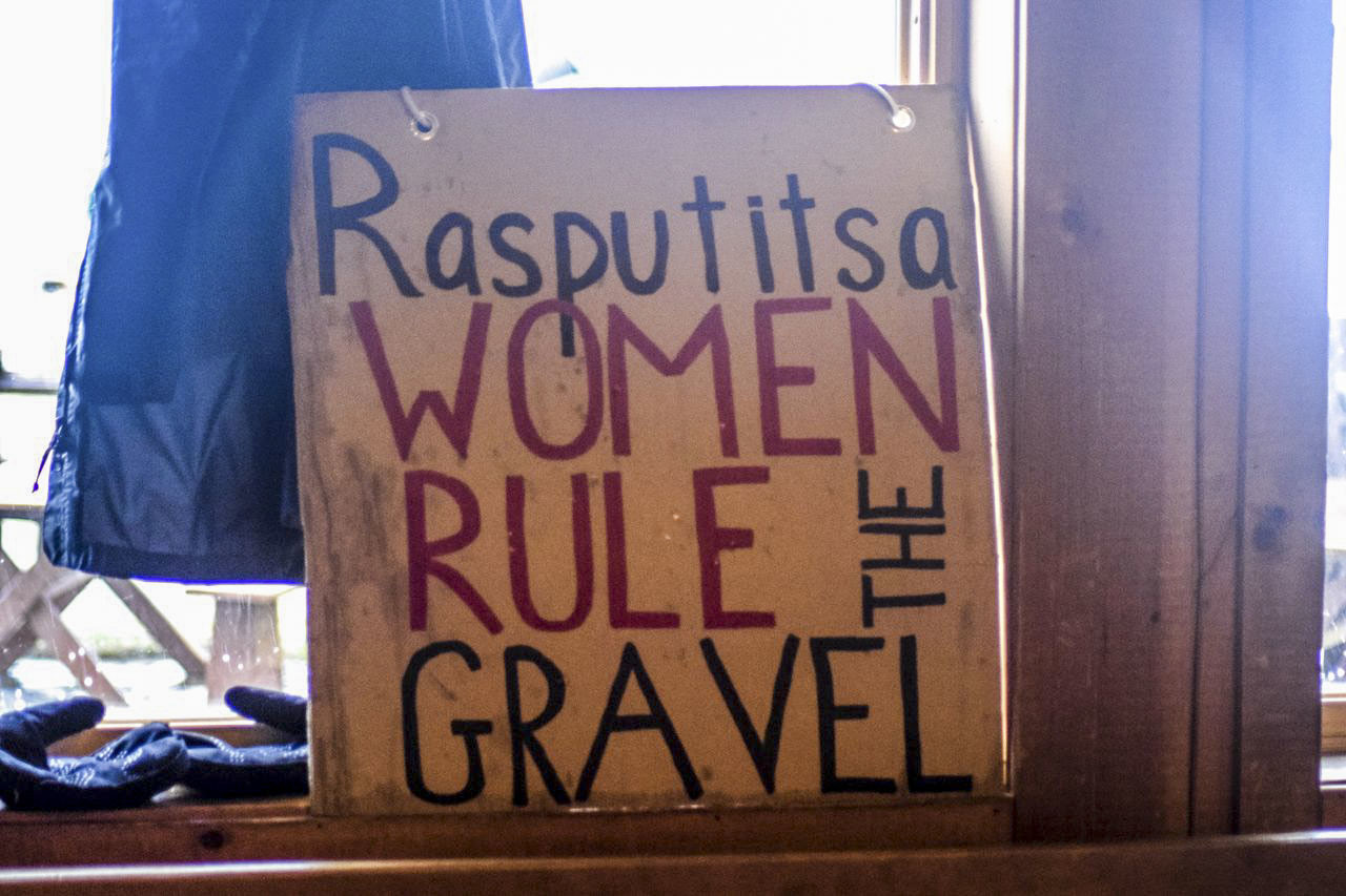 Encouraging women's participation is an essential part of Rasputitsa. 2019 Rasputitsa Gravel Race, Vermont. © Nolan Myers