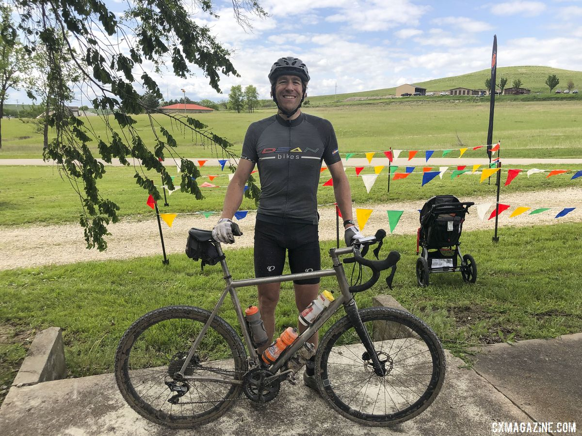 After Maisie's Pride, Symns got the good news he was headed to the Dirty Kanza.