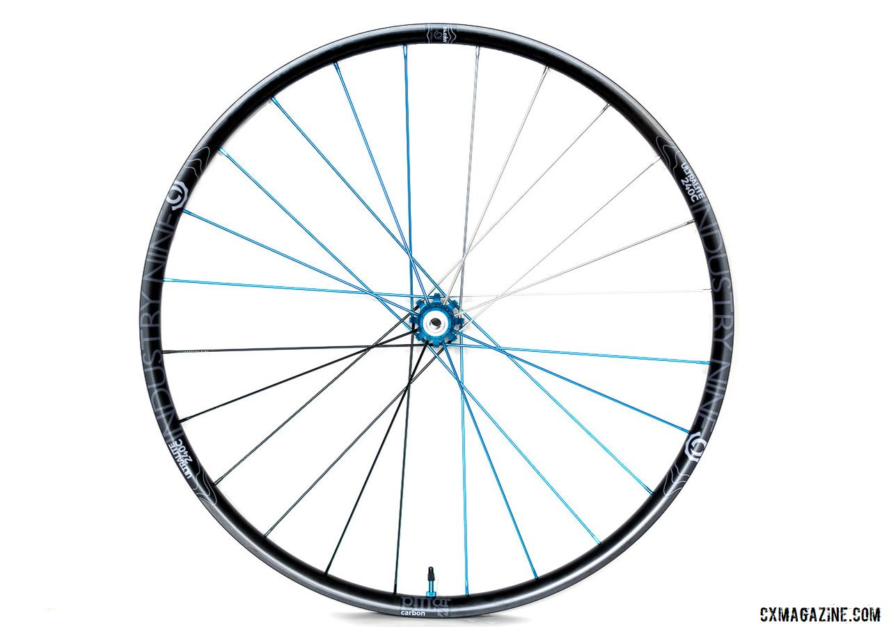 Industry Nine Ultralite 240 TRA Carbon Tubeless Clincher Wheelset. © C. Lee / Cyclocross Magazine