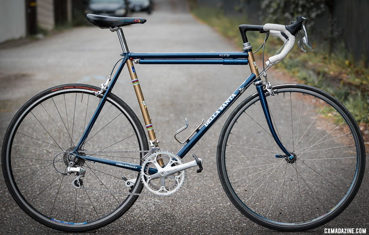 Clifford Lee's Roland Della Santa Road bike. © C. Lee / Cyclocross Magazine