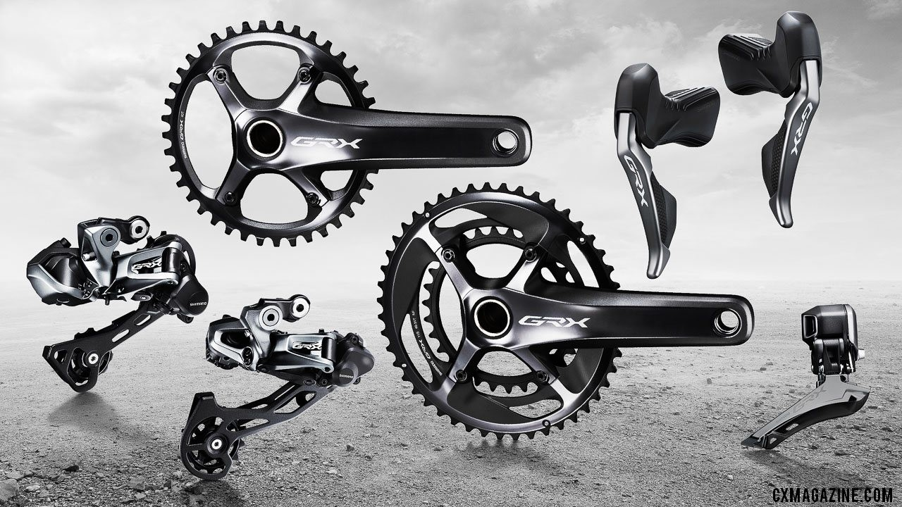 Shimano's new GRX Di2 RX815 gravel / cyclocross components.
