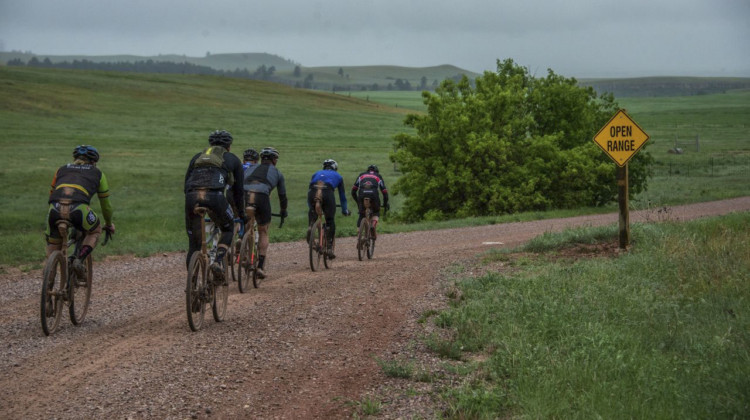 2019 Gold Rush Gravel Grinder, South Dakota. © Randy Ericksen
