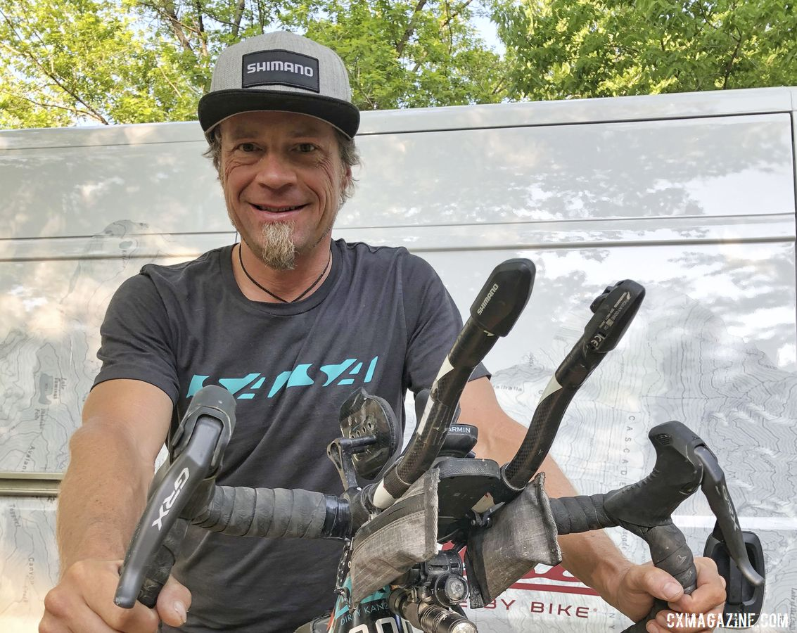 Jay Petervary won the 2019 DKXL. © Shimano