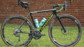 Lauren De Crescenzo's Cannondale SuperX Gravel Bike. © Z. Schuster / Cyclocross Magazine
