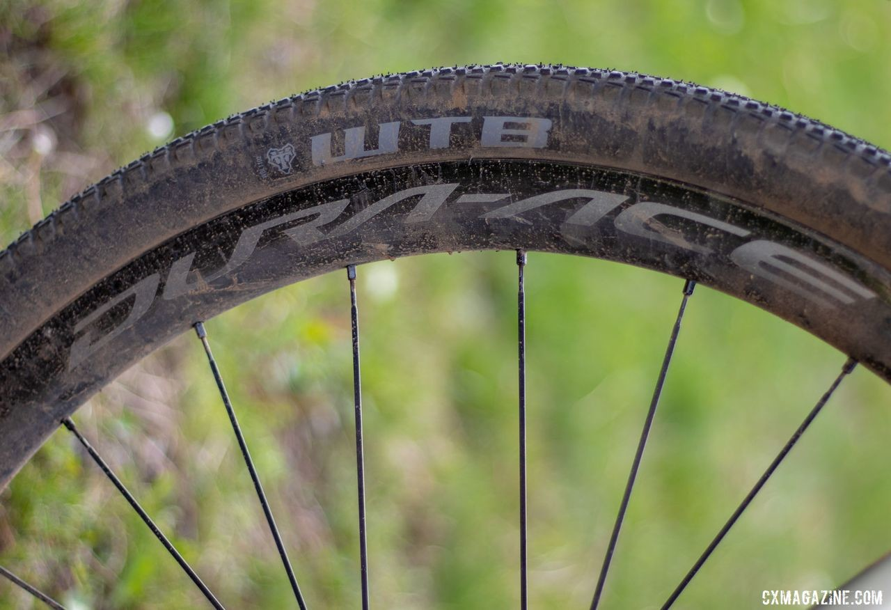 Wicks ran the same WTB Riddler tire as last year on his Dura-Ace C40 wheels. Barry Wicks' 2020 Team Edition Kona LIbre. 2019 Lost and Found gravel race. © A. Yee / Cyclocross Magazine
