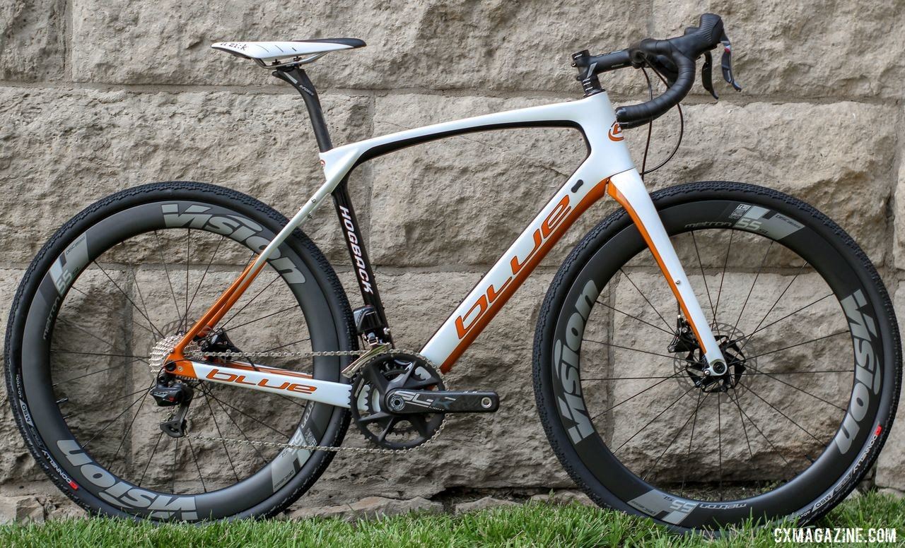 Blue Hogback Gravel Bike, 2019 Dirty Kanza Expo. © Z. Schuster / Cyclocross Magazine
