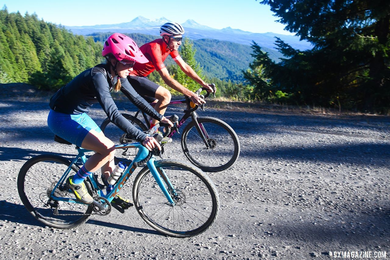 Organziers designed the stage race as an adventure with plenty of gravel grinding in store. photo: Oregon Trail Gravel Grinder