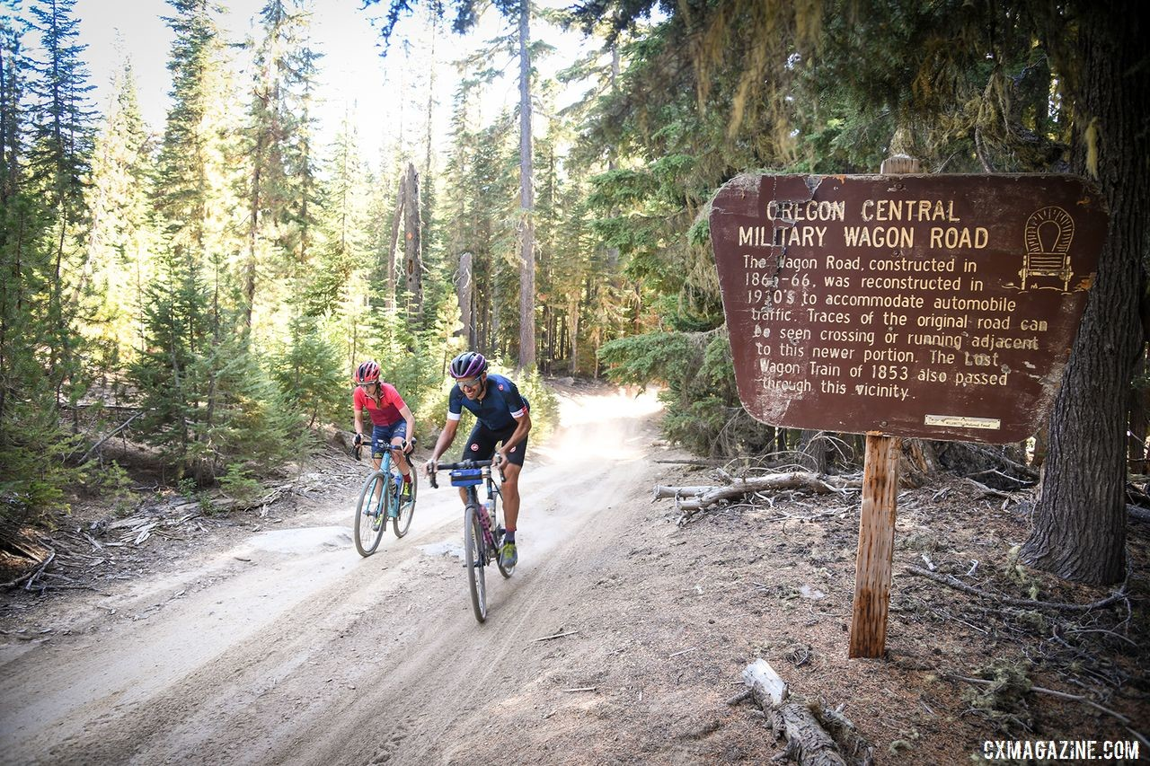 The Oregon Trail Gravel Grinder will include some historic wagon roads on its route. photo: Oregon Trail Gravel Grinder