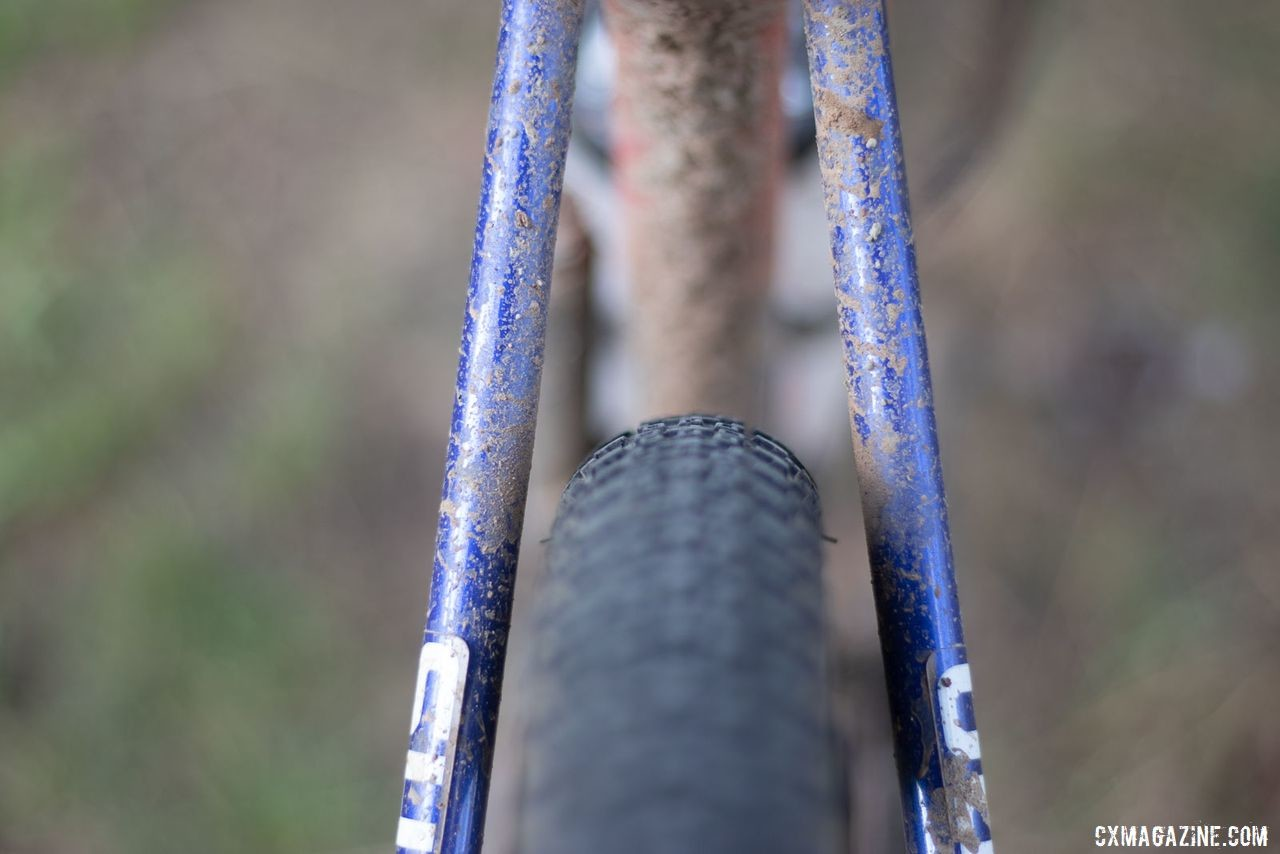 The redesigned Terra has clearance for tires up to 40mm wide. Katerina Nash's 2019 Lost and Found-winning gravel bike. © A. Yee / Cyclocross Magazine