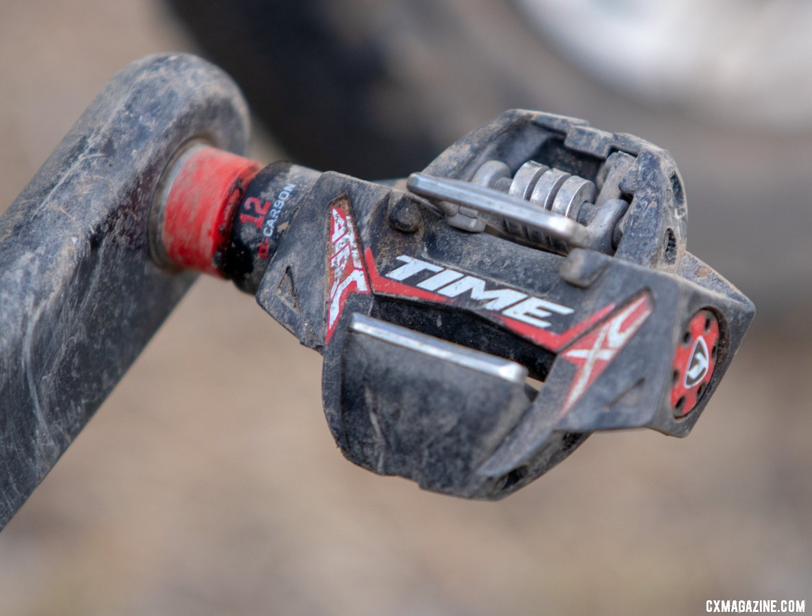 Time pedals are new to Ortenblad as of last cyclocross season. He previously used Crank Brothers pedals. Tobin Ortenblad's 2019 Lost and Found-winning Santa Cruz Stigmata. © A. Yee / Cyclocross Magazine