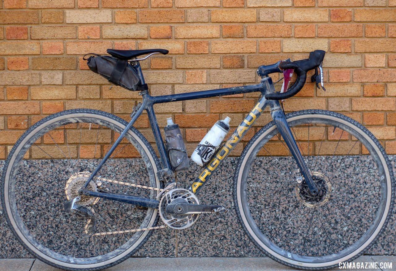 Sarah Max's 2019 DK200 Argonaut GR2 Gravel Bike. © Z. Schuster / Cyclocross Magazine