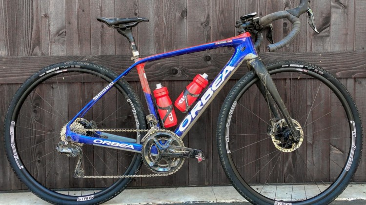 Katerina Nash's 2019 Lost and Found-winning Orbea Terra.