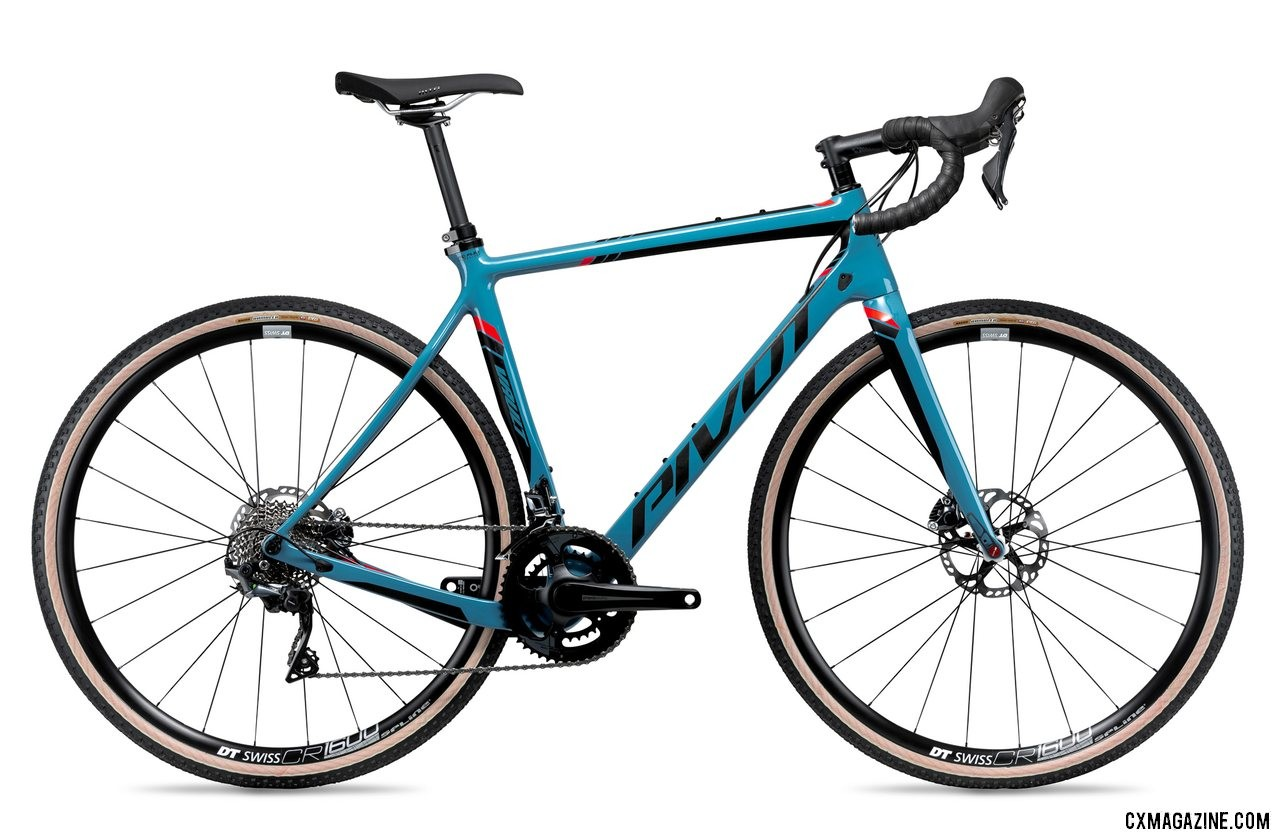 Pivot's all-new versatile Vault cyclocross/gravel bike with a Shimano Pro Ultegra 2x build.