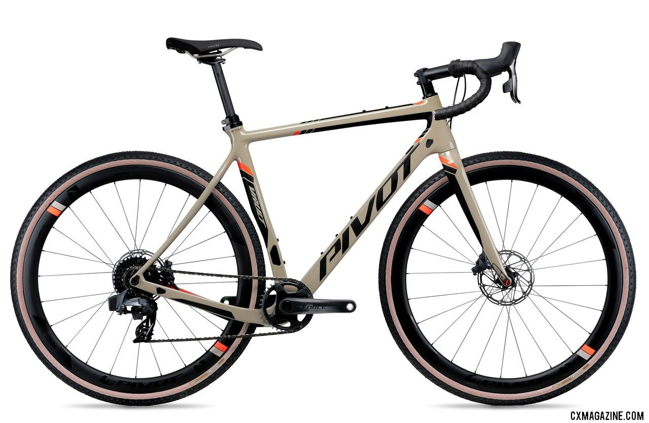 Pivot's all-new versatile Vault cyclocross/gravel bike with a SRAM Team Force 1 AXS eTap build.