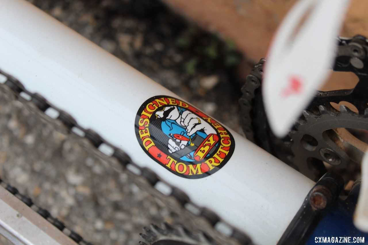 The Coetzee's tandem was made by Tom Ritchey, an avid tandem rider himself. Dori and Andrew Coetzee's Ritchey Double Switchback Break Away Tandem. © Z. Schuster