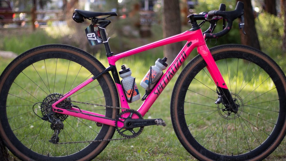 Sarah Sturm's 2019 Lost and Found Specialized Diverge gravel bike. © A. Yee / Cyclocross Magazine
