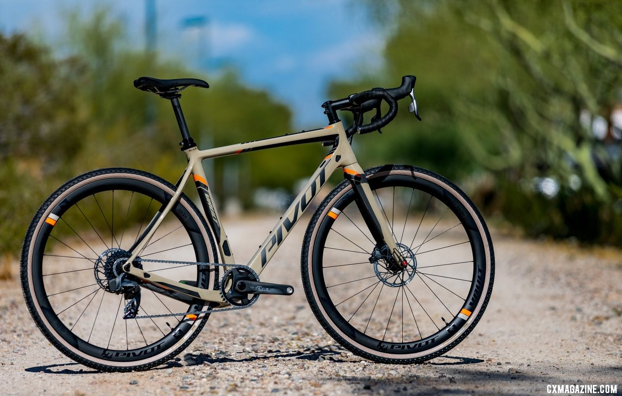 The new Pivot Vault has a lot in common with mountain bikes of old. Pivot's all-new versatile Vault cyclocross / gravel bike with a SRAM Team Force 1 AXS eTap build.