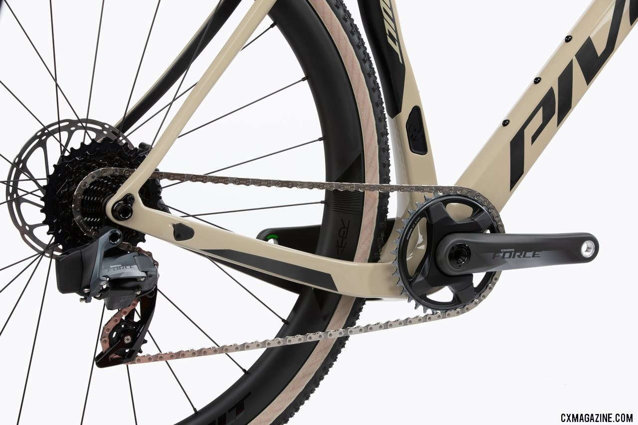 Pivot's all-new versatile Vault cyclocross/gravel bike features a removable front derailleur mount.