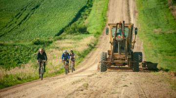 Riders and tractors could be seen at the 2019 Bohemian Sto Mil. © Rebecca Wright